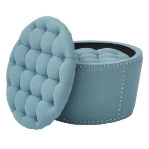 Surprising Osp Home Furnishings Lacey Tufted Storage Ottoman Set In Creativecarmelina Interior Chair Design Creativecarmelinacom