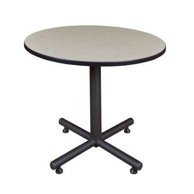 Kobe Maple 42 in. Round Breakroom Table