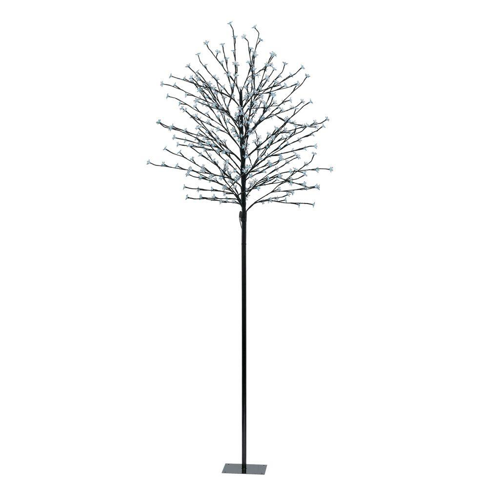 Eglo 82.63 in. Black LED Tree Post Light