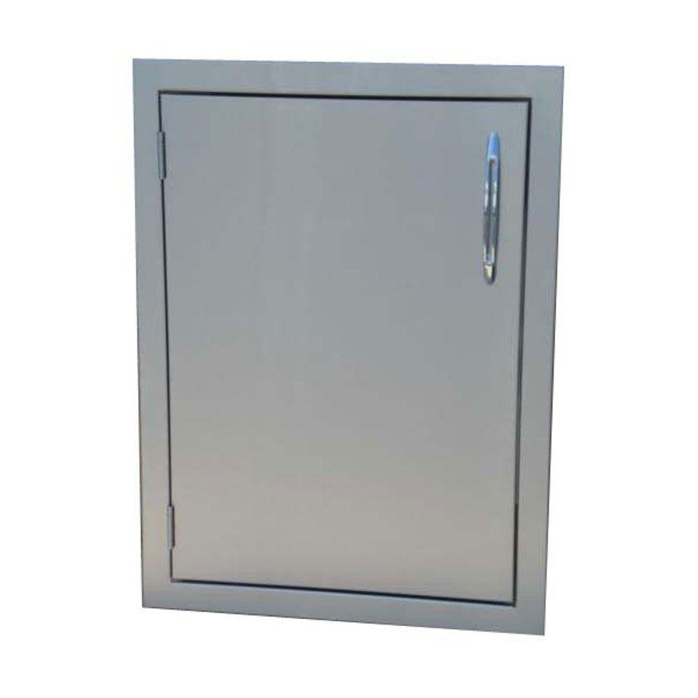 Precision 20 in. Vertical Built-In Stainless Steel Single Access Door