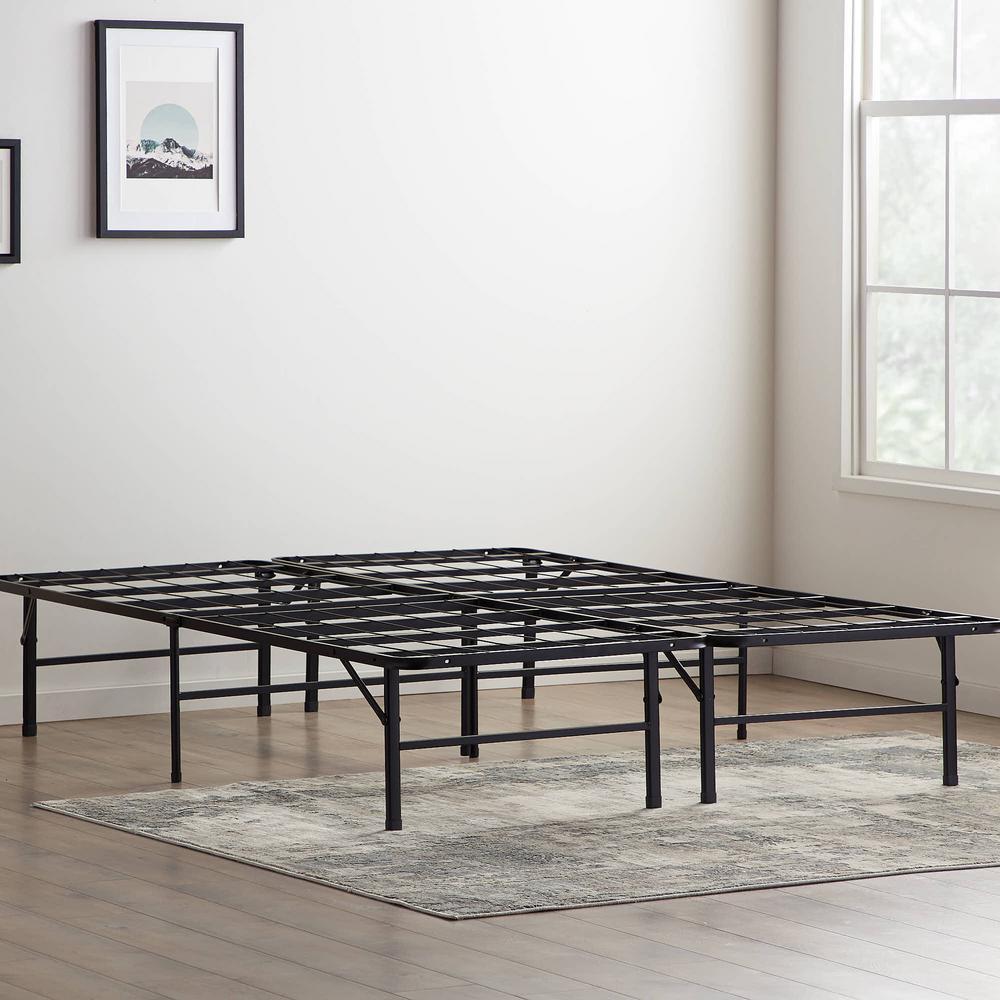 14 in. Steel Platform Bed Frame – Queen