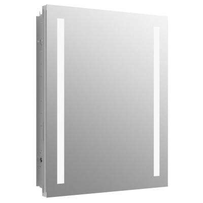 Verdera 24 in. W x 30 in. H Recessed or Surface Mount Lighted Medicine Cabinet