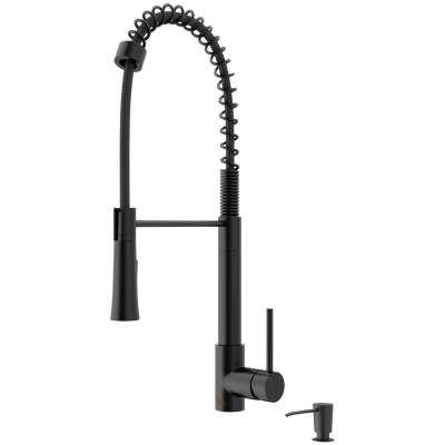 2 Hole Black Kitchen Faucets Kitchen The Home Depot