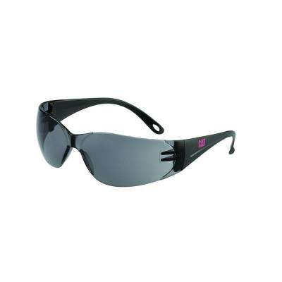 Safety Glasses Jet Smoke Lens with Case