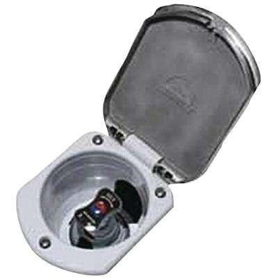 Recessed Transom Shower Mixer, Stainless Steel