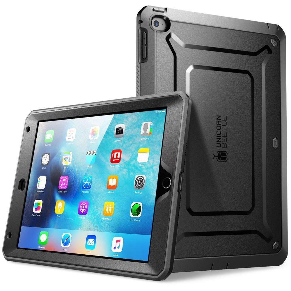 SUPCASE Unicorn Beetle Pro Full Body Case for Apple iPad Mini 4 Case, Black