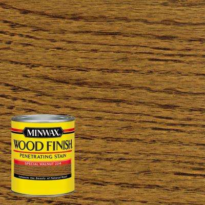 1-qt. Wood Finish Special Walnut Oil Based Interior Stain (4-Pack)
