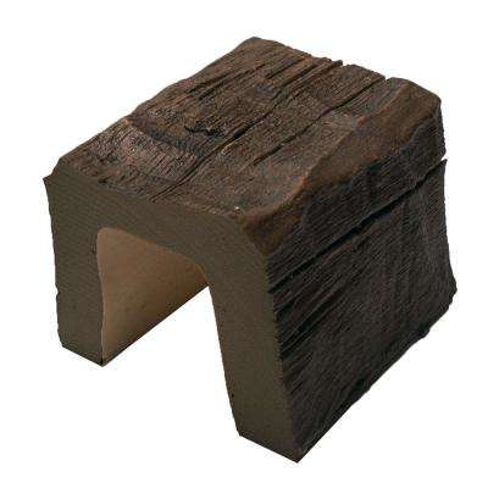 5 in. x 5 in. x 6 in. Long Faux Wood Beam Sample