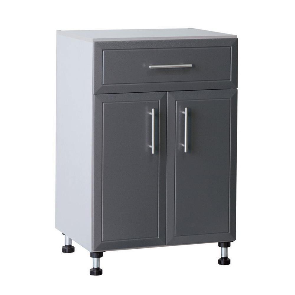 ClosetMaid Pro Garage 36.5 in. H x 24 in. W x 20 in. D Gray ...