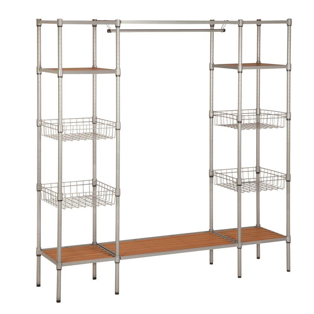 68 in. x 16.5 in. Freestanding Closet Organizer