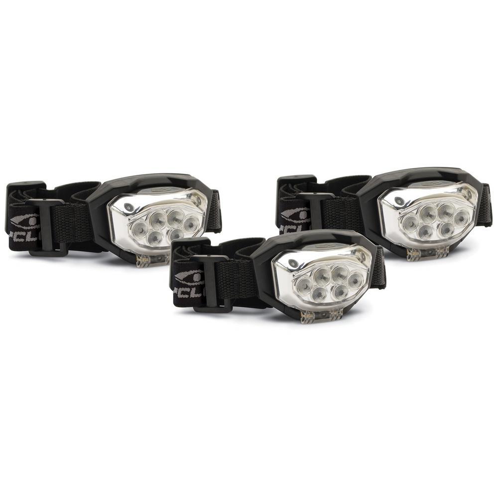 TRIO 300 Lumens Headlamp (3-Pack)