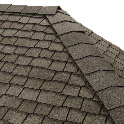 Timbertex Antique Slate Premium Hip and Ridge Shingles (20 lin. ft. per Bundle)