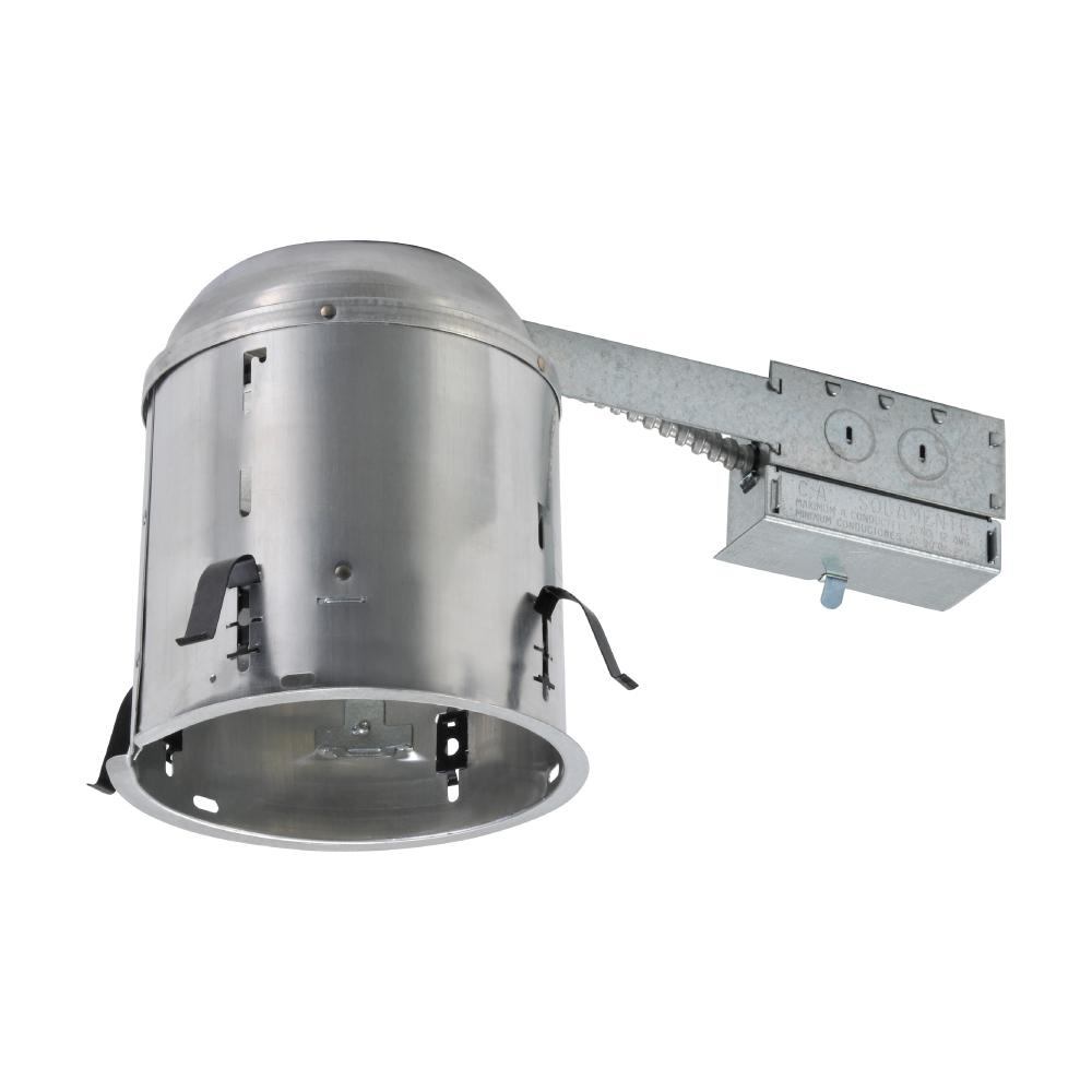 Halo H7 6 In Aluminum Recessed Lighting Housing For Remodel Ceiling Insulation Contact H7rict The Home Depot