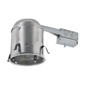 Commercial Electric 6 In Aluminum Remodel Ic Recessed Can Light Housing 6 Pack Cat7icrm The Home Depot
