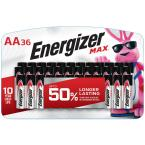 MAX Alkaline AA Battery (36-Pack)