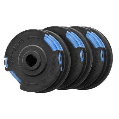 Electric String Trimmer0.065 in. Replacement Spool (3-Pack)