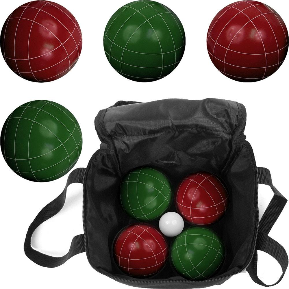 Regulation Bocce Ball Set with Carrying Case