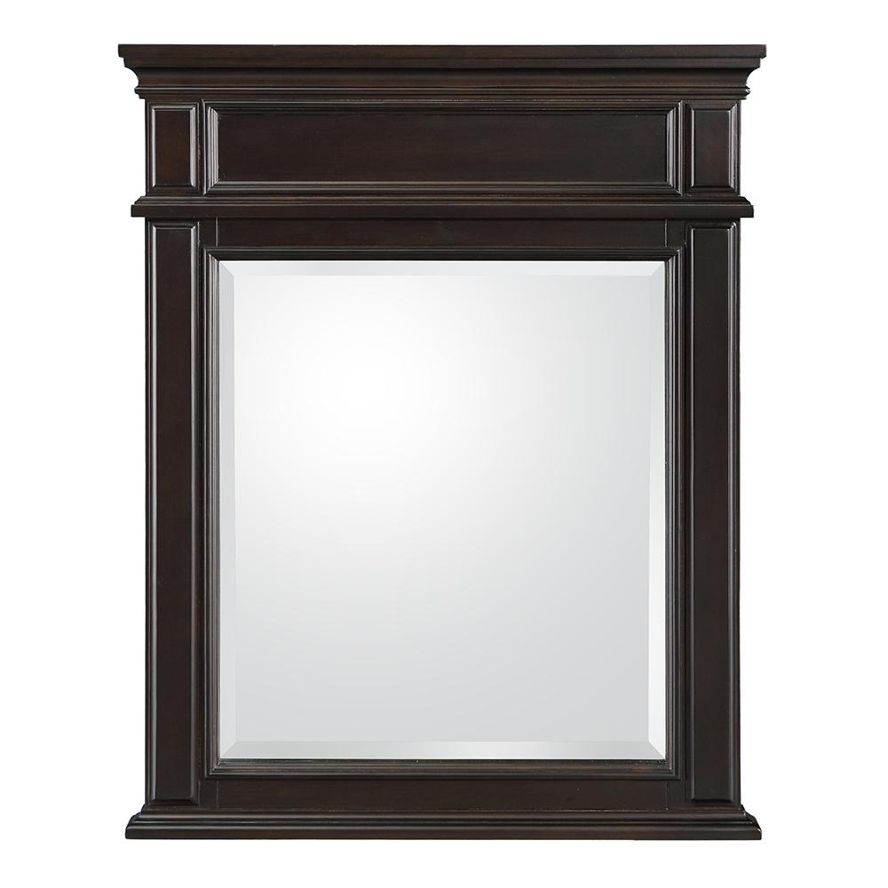Kenbridge 26 in. W x 32 in. H Wall Mirror in