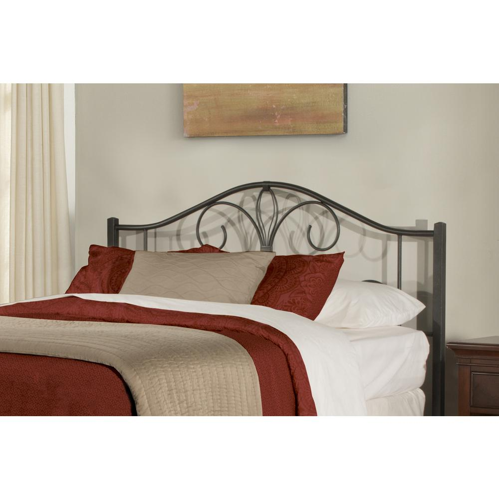 Hillsdale Furniture Kenosha Black Sparkle Twin Headboard