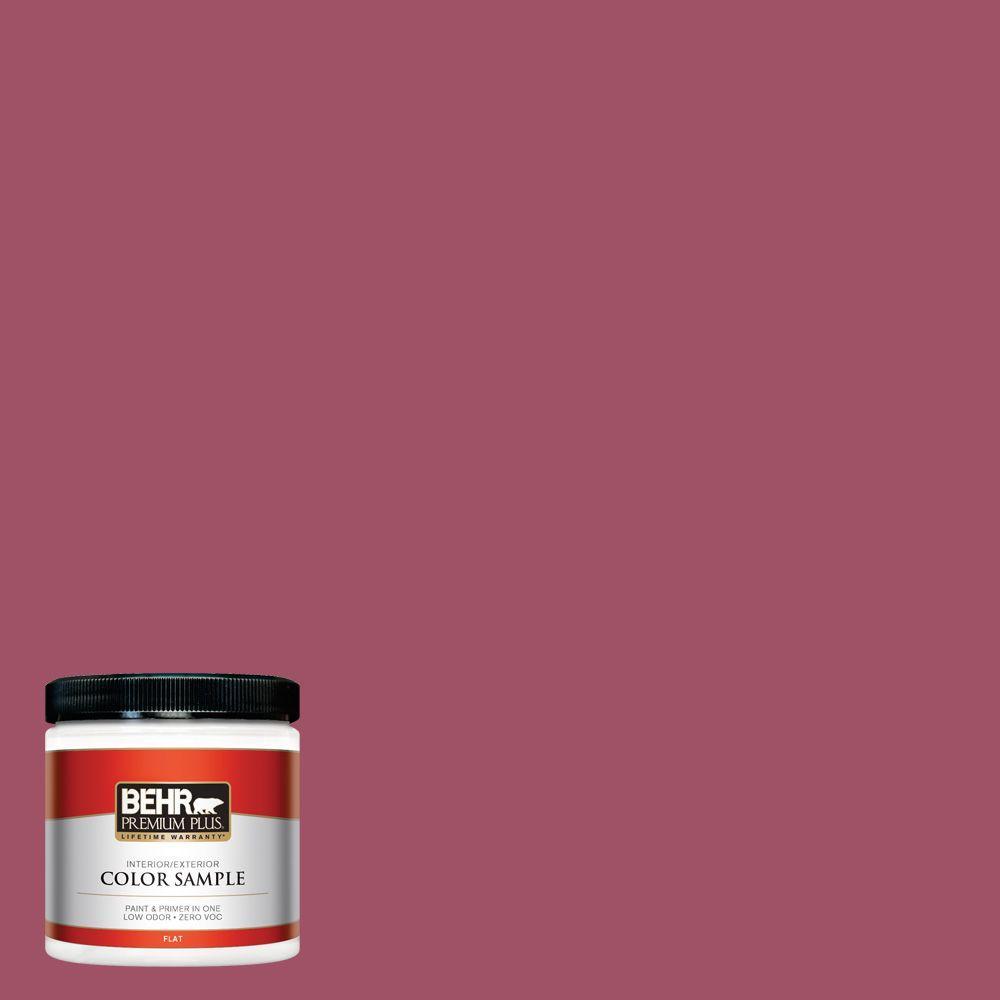 BEHR Premium Plus 8 oz. #110D-5 Mission Wildflower Interior/Exterior Paint Sample