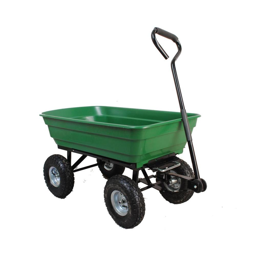 Sandusky 4 cu. ft. 20 in. W Plastic Utility Cart
