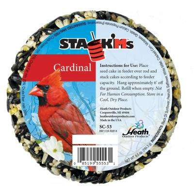 Stack'Ms Seed Cakes - Cardinal (Case of 6)