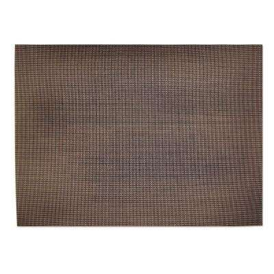 13 in. x 18 in. Indoor/Outdoor Placemat in Brown