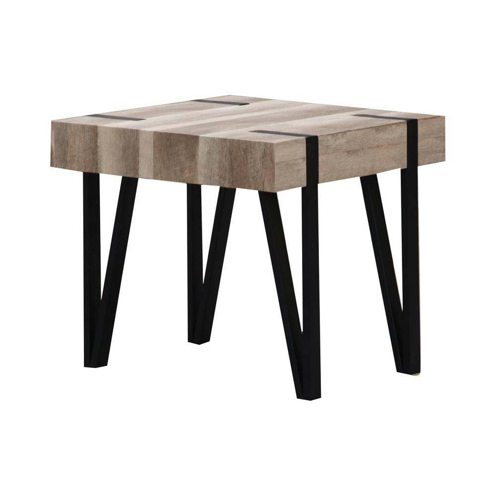 Table H Et H home source industries home source autenberry mixed media end table