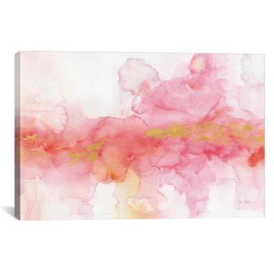 """Rainbow Seeds Abstract Gold"" by Lisa Audit Canvas Wall Art"