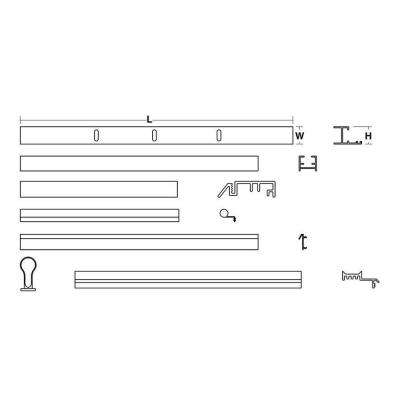 30 in. x 40 in. Pivot Door Assembly Kit