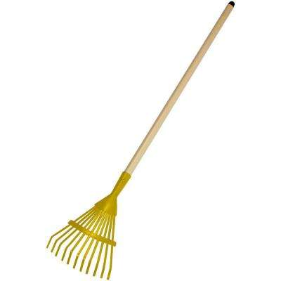 28 in. Long Handle Shrub Rake for Kids