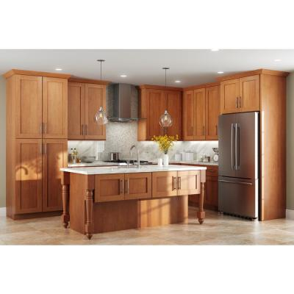 Arts Crafts Kitchen Cabinets Kitchen The Home Depot