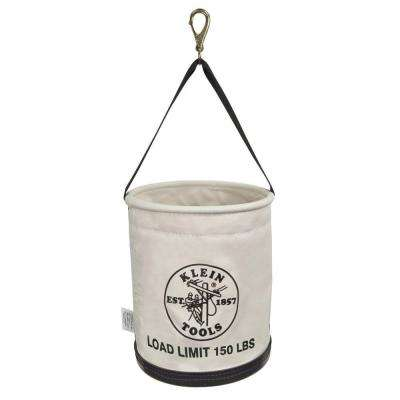 15 in. Canvas All Purpose Work Bucket