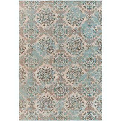 Didus Teal 8 ft. x 11 ft. Indoor Area Rug