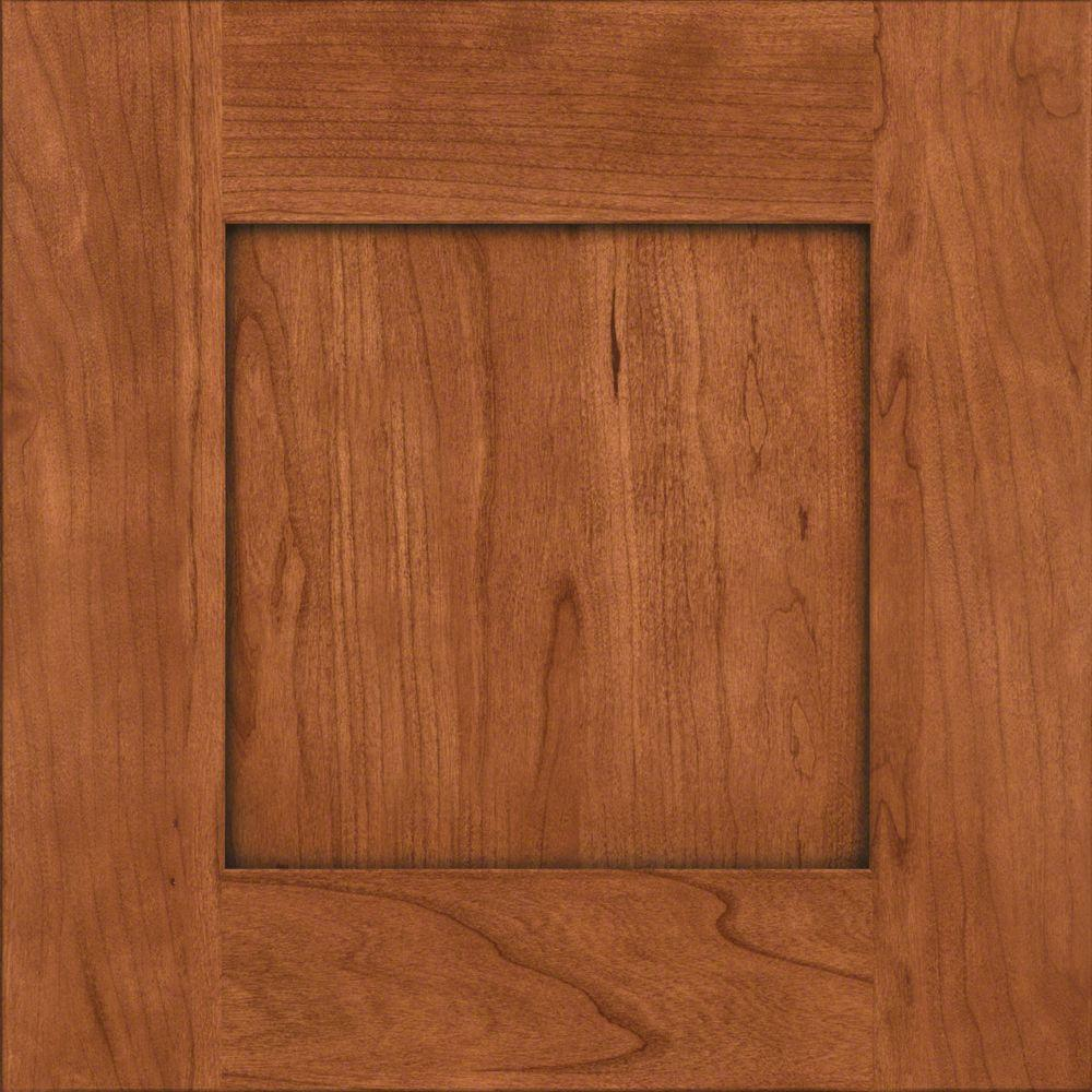 Cabinet Door Sample In Hayward Cherry With Cinnamon