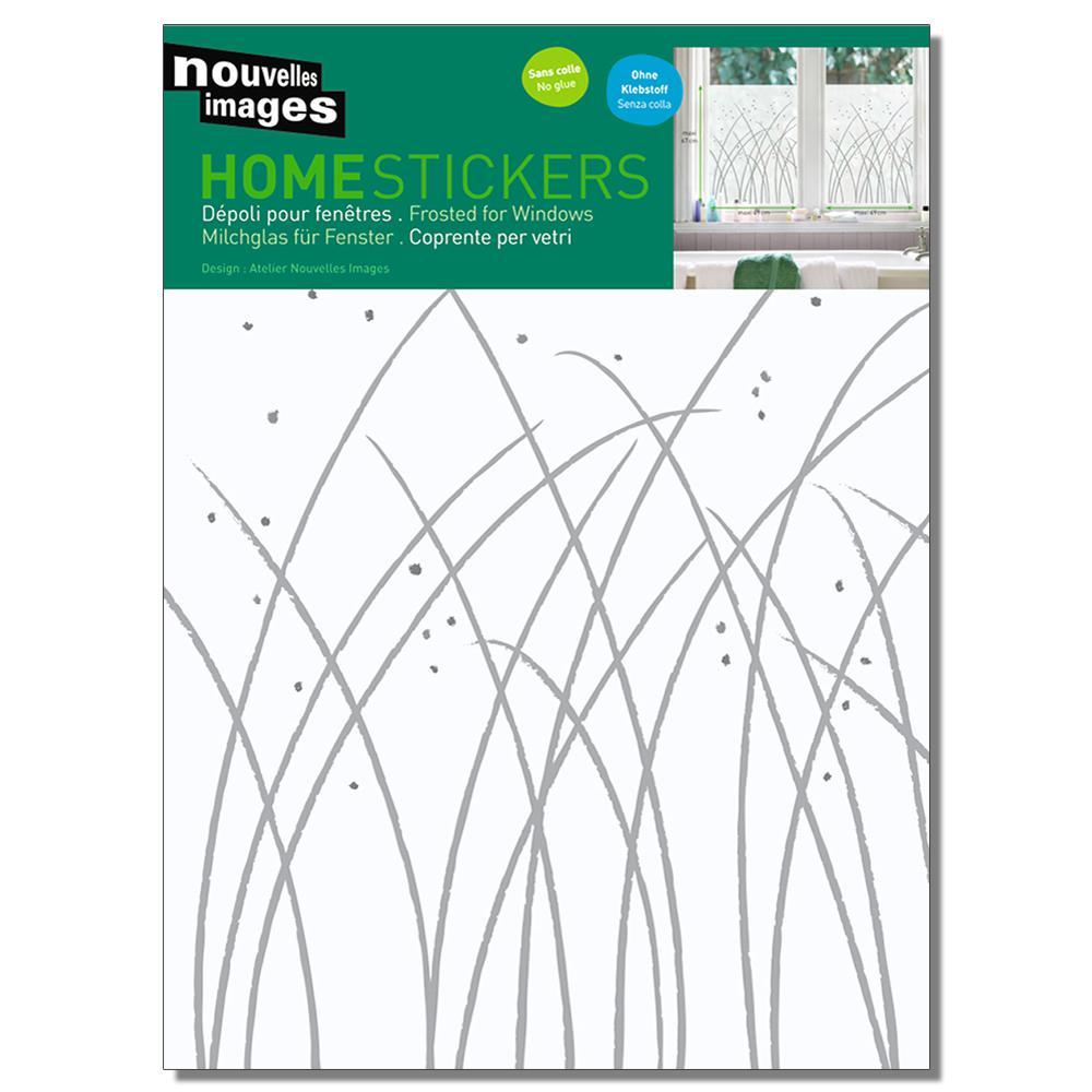 Multicolor Grasses - Leonor Mataillet Home Sticker
