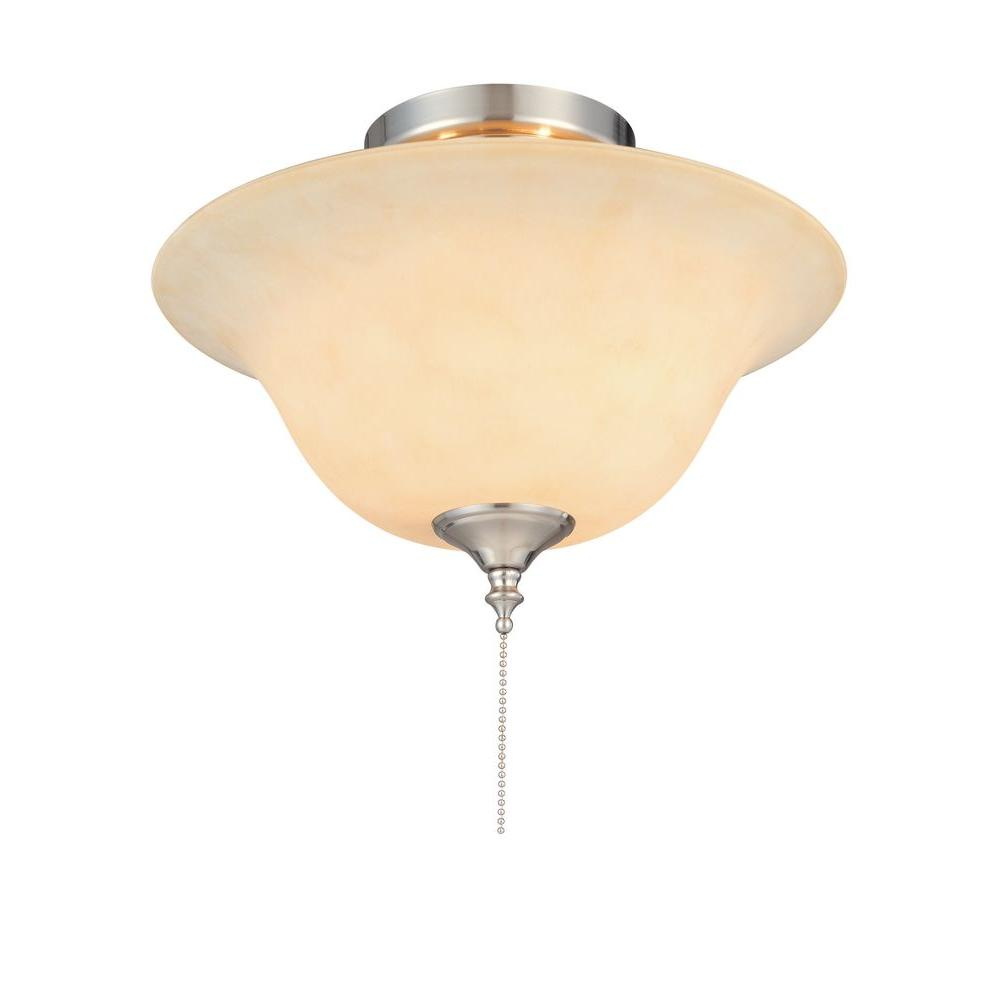 Hampton bay 2 light 13 in convertible flushmount ceiling fan light hampton bay 2 light 13 in convertible flushmount ceiling fan light kit aloadofball Gallery