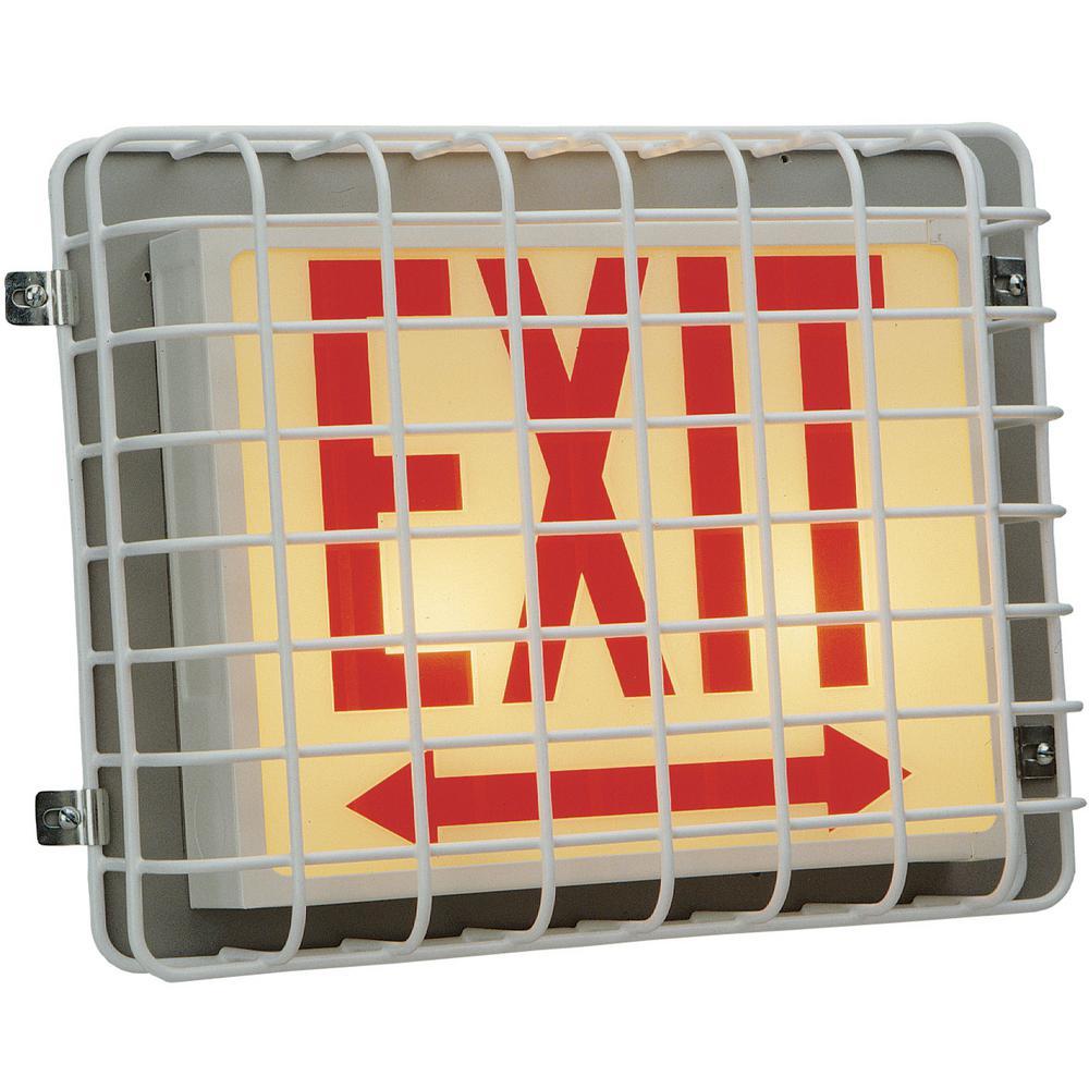 Damage Stopper Exit Sign