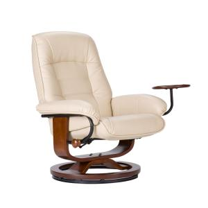 Astonishing Southern Enterprises Taupe Leather Reclining Chair With Cjindustries Chair Design For Home Cjindustriesco