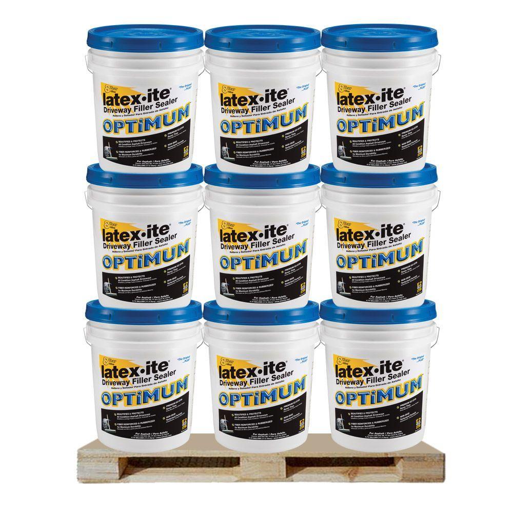 Latex-ite 4.75 Gal. Optimum Driveway Filler Sealer (36 Pails / Pallet )