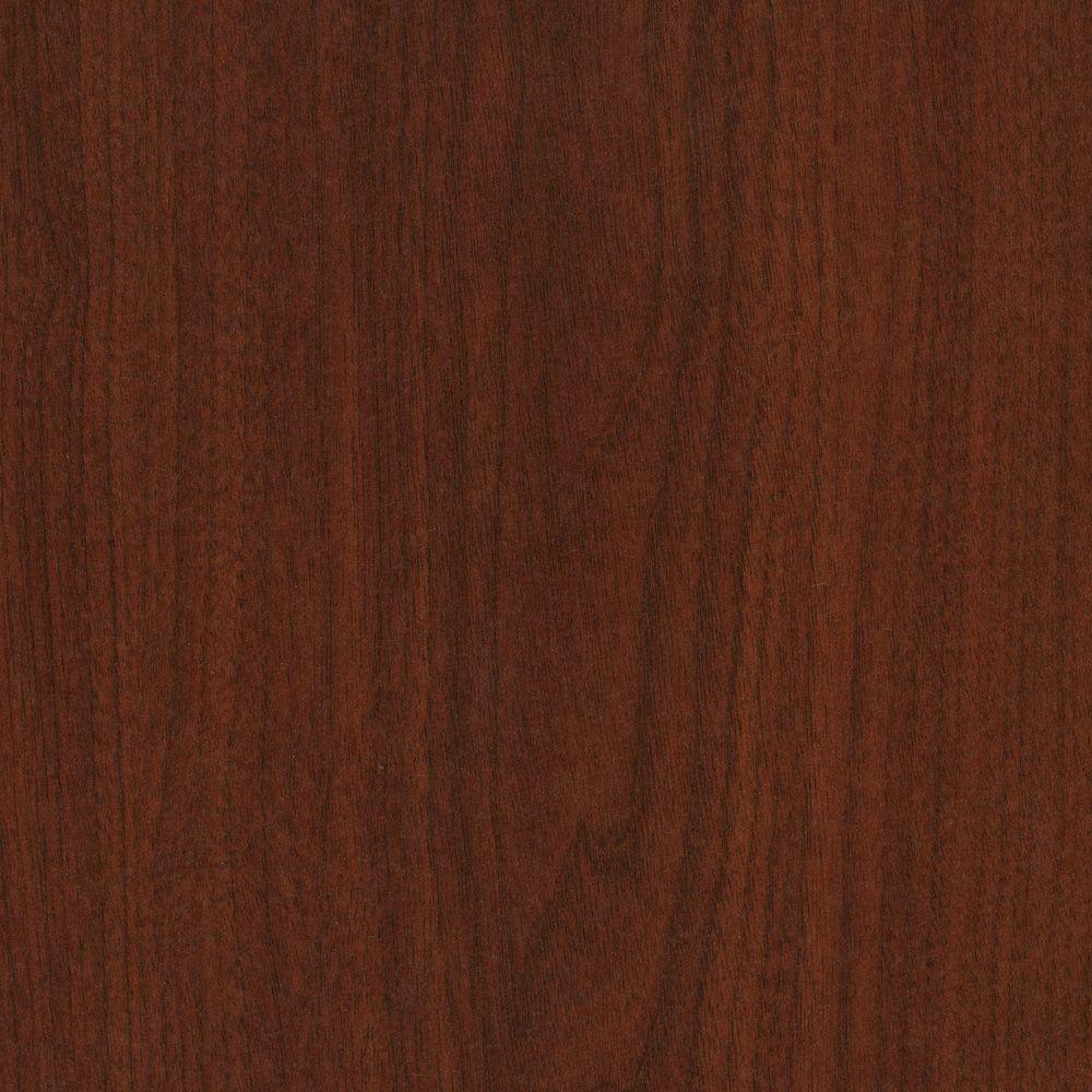 3 in. x 5 in. Laminate Countertop Sample in Brighton Walnut with Premium Textured Gloss Finish