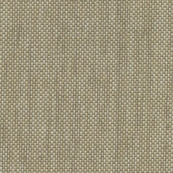 Kenneth James 8 in. x 10 in. Gaoyou Khaki Paper Weave Wallpaper Sample