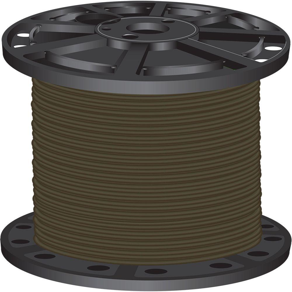 1,000 ft. 6 Brown Stranded CU SIMpull THHN Wire