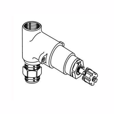 3/4 In. Rough On/Off Volume Control Valves, 3/4 In. Inlet/Outlet