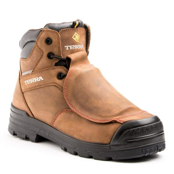 Work Boots - Composite Toe - Brown