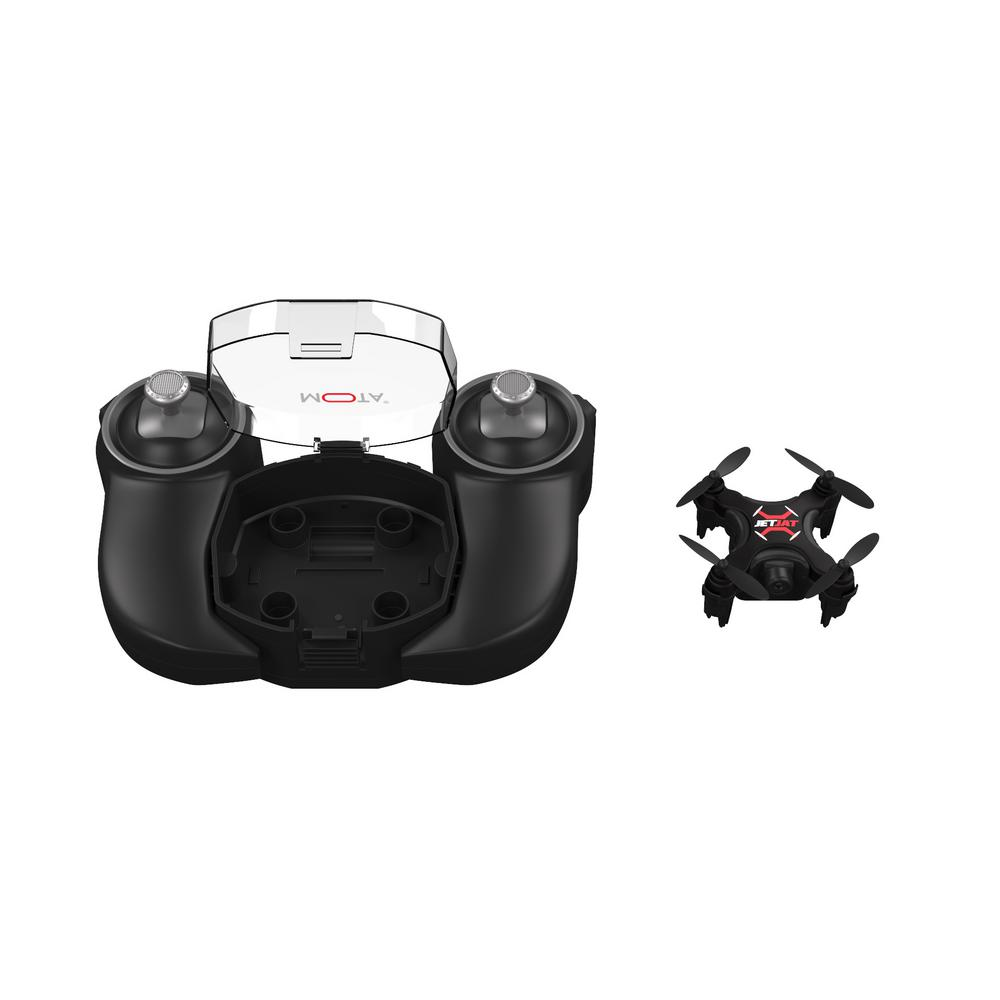 Jetjat Ultra Drone with OneTouch Take-Off and Landing, Black