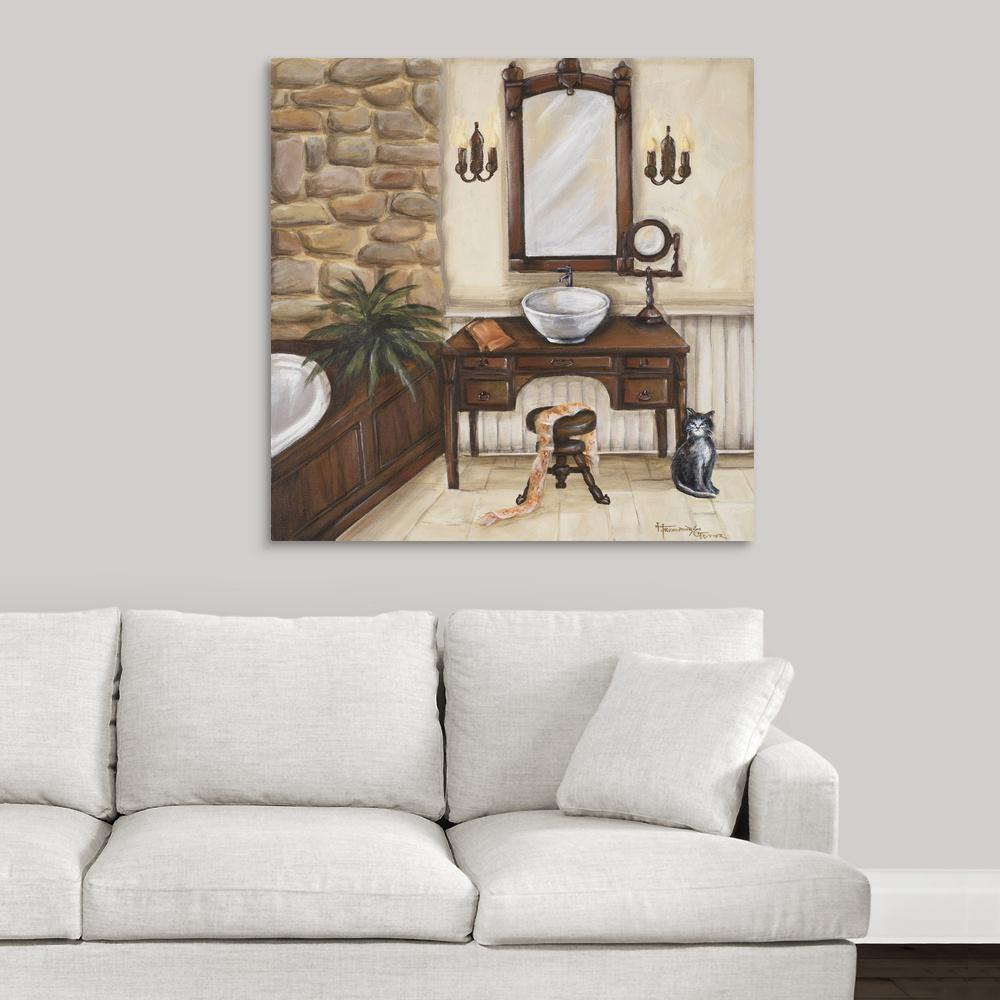 Fireplace Escape II by Great BIG Canvas Canvas Wall Art, ...