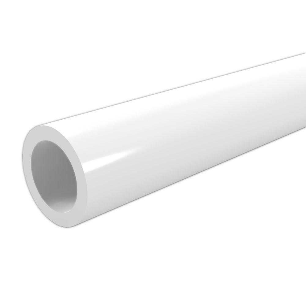 This review is from3/4 in. x 5 ft. Furniture Grade Sch. 40 PVC Pipe in White  sc 1 st  The Home Depot & Formufit 1 in. x 5 ft. Furniture Grade Sch. 40 PVC Pipe in White ...