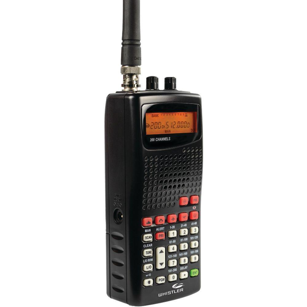 Whistler WS1010 Analog Handheld Radio Scanner-WS1010 - The ...