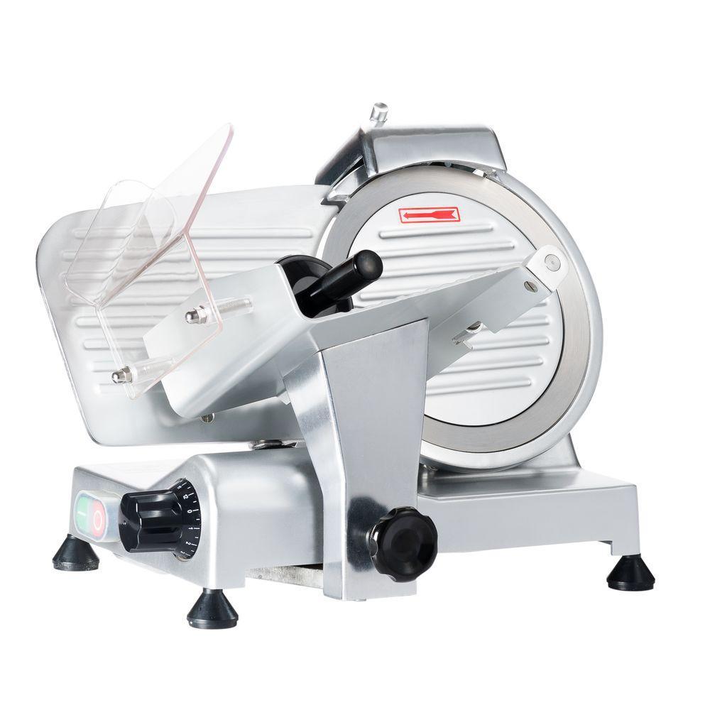 LEM Professional 200 W Silver Electric Meat Slicer